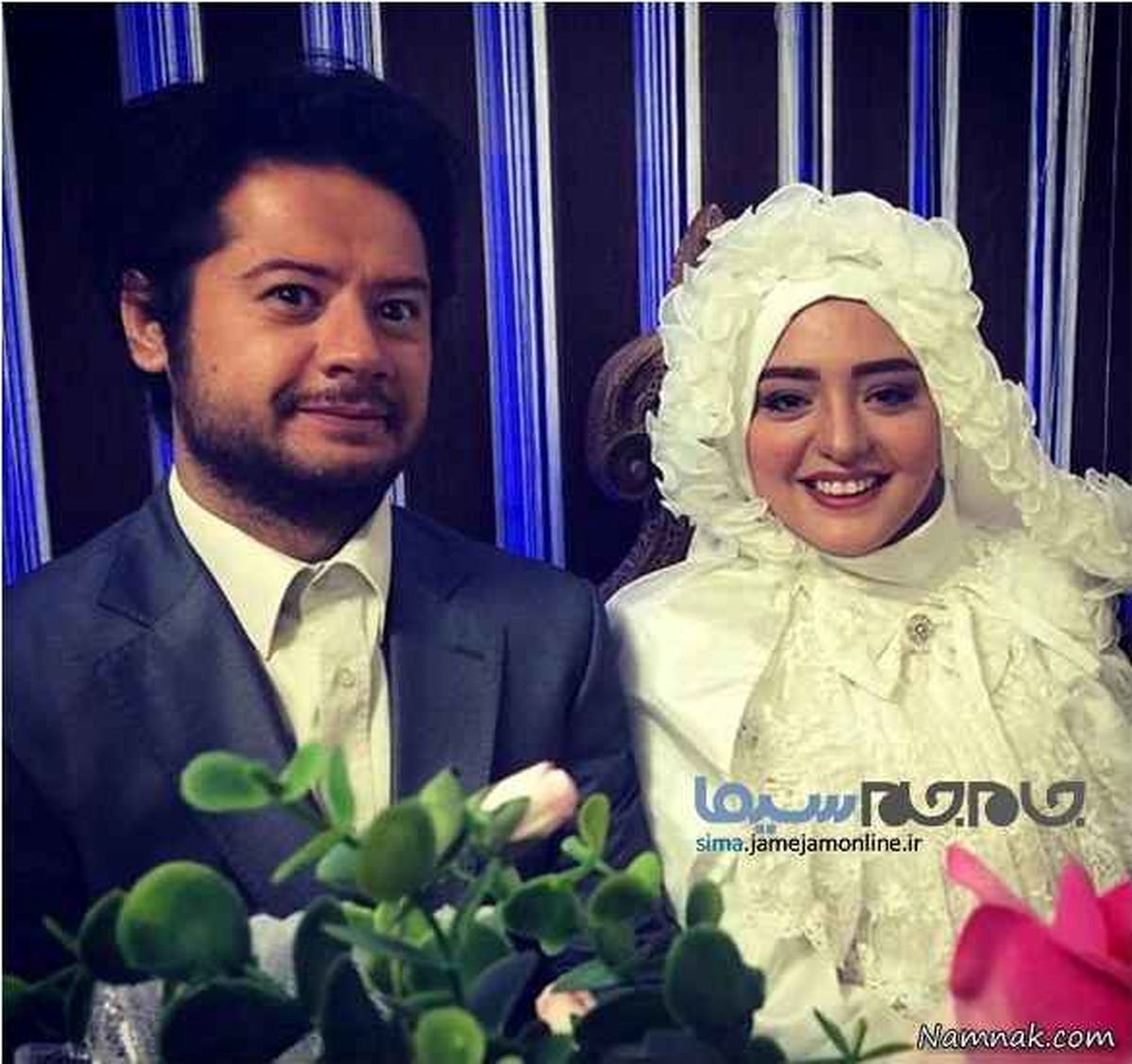 نرگس محمدی همسر اول علی صادقی ! + عکس