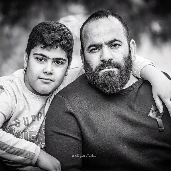 عکس Seyed Hasan Aghamiri و پسرش هانی