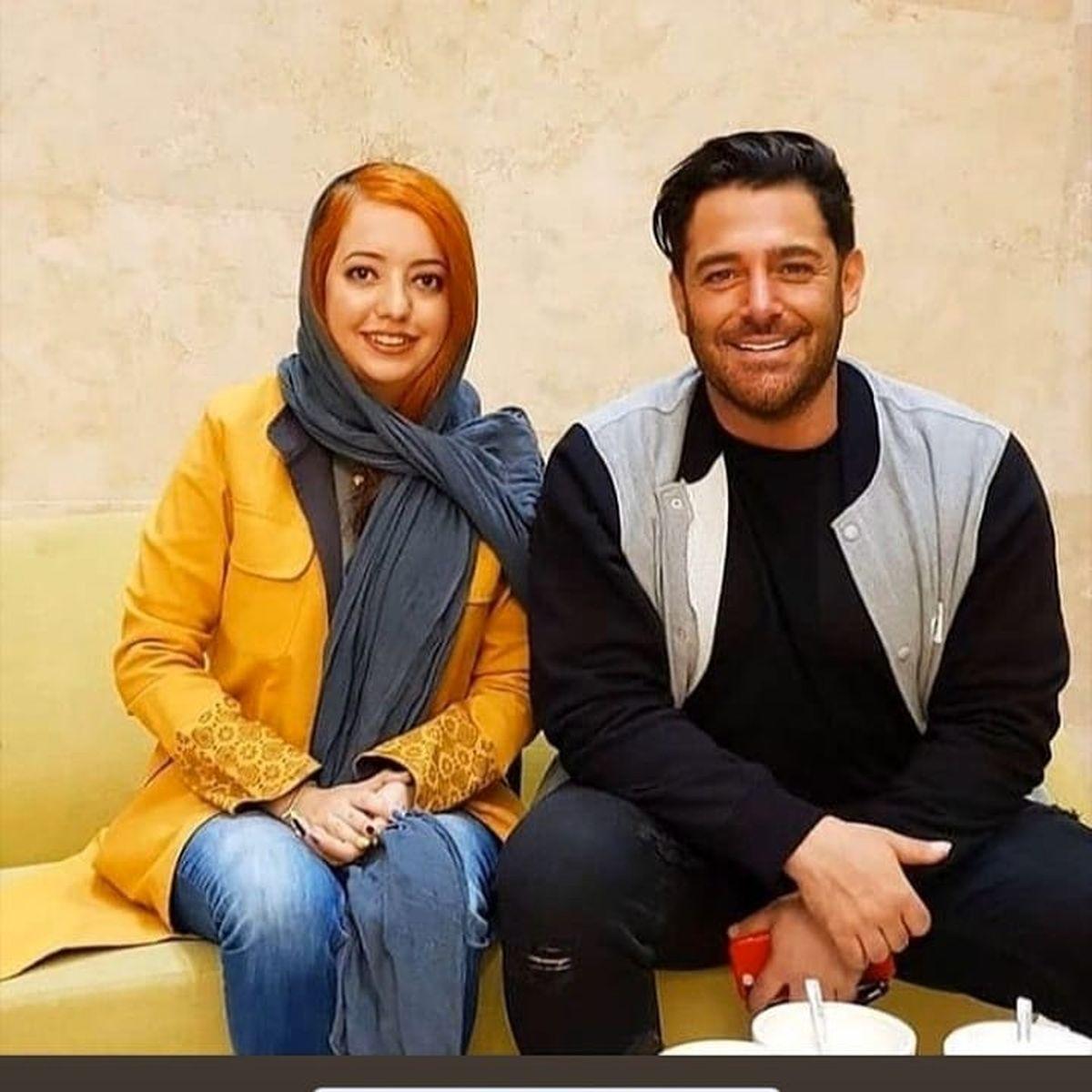 عکس صمیمانه و عجیب محمدرضا گلزار با دختر هوادار